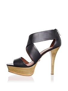 Pour La Victoire Women's Tifara Platform Sandal (Black)