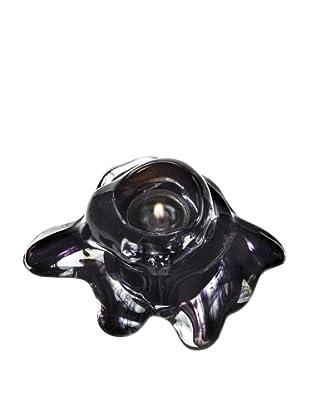 Kosta Boda Cosy Candle Votive (Black)