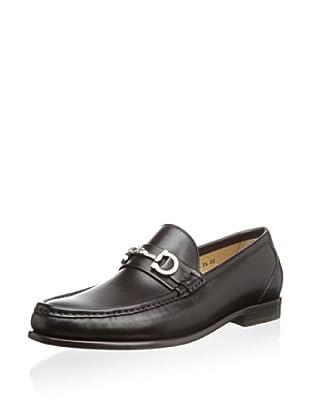 Salvatore Ferragamo Men's Giostra Loafer (Hickory)