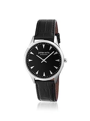 Johan Eric Men's JE9000-04-007 Helsingor Black Leather Watch