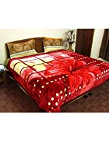 Forty Winks Polyester Two Ply Premium Mink Double Blanket