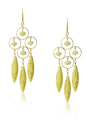 David Aubrey Kalliope Hook Earrings