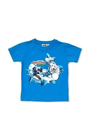Licencias Camiseta Monsuno (Azul)