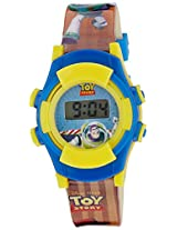 Disney Digital Multi-Color Dial Children's Watch - TP-1108 (Yellow)