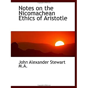 【クリックでお店のこの商品のページへ】Notes on the Nicomachean Ethics of Aristotle [ペーパーバック]