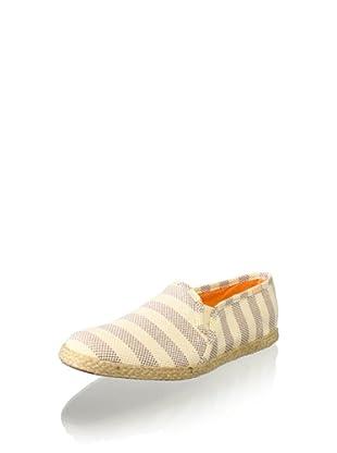 Keds Women's Jute Stripe Slip-On (Cream)