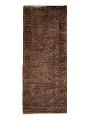Darya Rugs Ziegler One of a Kind Rug, Brown, 3' 1