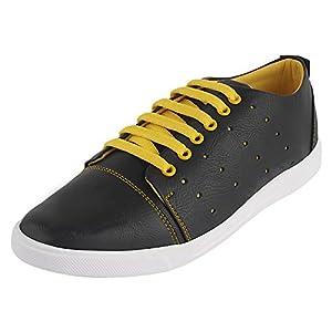 Rosso Italiano Men's Sportx Black Sneakers Shoe (ris499bl501)7