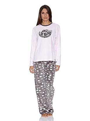 Bluedreams Pijama Tundosado (Rosa)