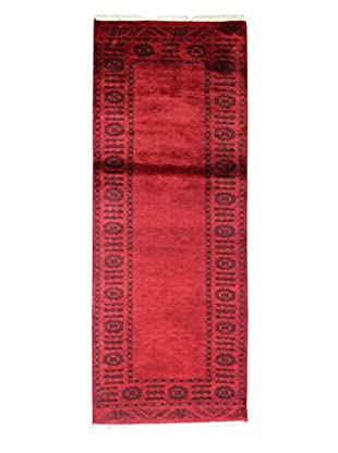 Bashian Rugs Hand-Knotted Pakistani Royal Bokara Rug, Red, 2' 7