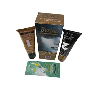 Berina For resistance Hair Straight Straightener Cream With Fixer Neutralizer