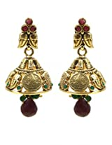 Elegant Polki Work Earrings