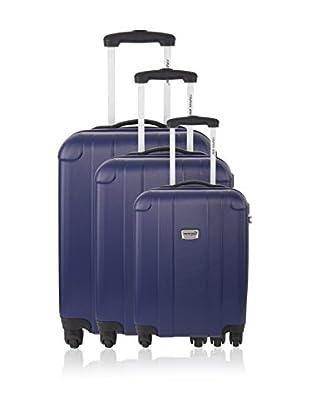 Travel One Set de 3 trolleys rígidos Spring