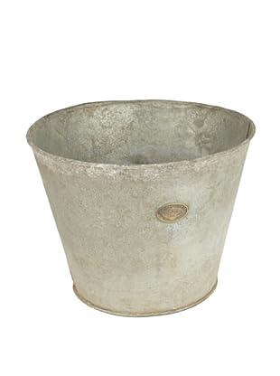 Europe2You Found Galvanized Flower Bucket