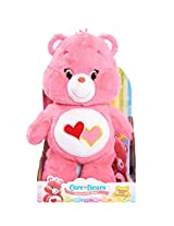 Just Play Care Bears Love-A-Lot Medium Plush with DVD