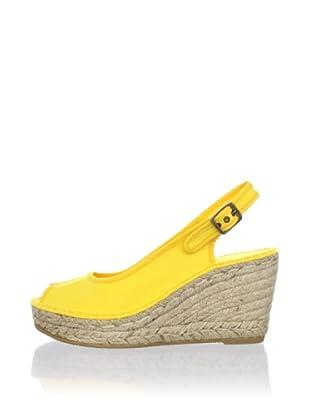 André Assous Women's Love Slingback Espadrille (Yellow)