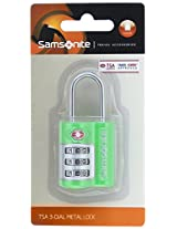 Samsonite Tsa Green Luggage Lock (Z34 (0) 04 165)
