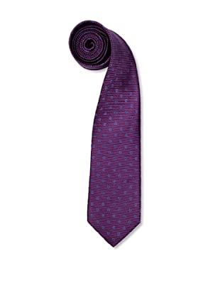 Olimpo Corbata Micro Rayas Violeta