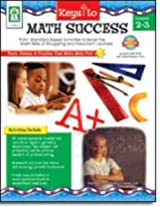Carson Dellosa Ke-804016 Keys To Math Success Gr 2-3