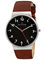 Skagen End-of-Season Ancher Analog Grey Dial Men's Watch - SKW6095