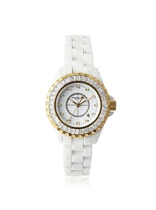 Stuhrling Original Women's 530S2.1113EP3 Glamour III White Ceramic Watch