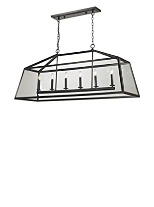 Artistic Lighting Alanna Collection 6-Light Pendant, Oil Rubbed Bronze
