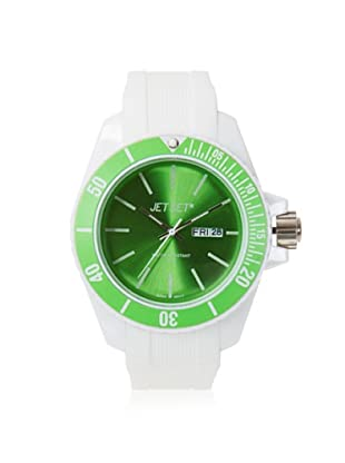 Jet Set of Sweden Women's JETJ83491-18 Bubble White/Green Rubber Watch