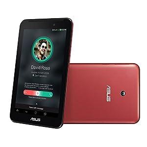 Asus Fonepad 7 FE170CG-6C012A Tablet (WiFi, 3G, Voice Calling, , 4GB, Dual SIM), Red