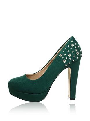 Buffalo Girl 325393R SY SUEDE 140872 - Zapatos de vestir  mujer (Turquesa)