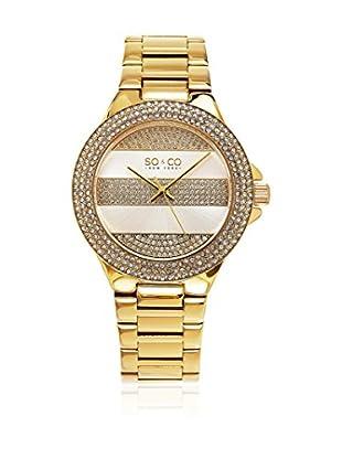 SO & CO New York Uhr mit japanischem Quarzuhrwerk Woman GP16036 39 mm