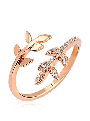 Divas Diamond Anillo Leaf Stones (Oro)