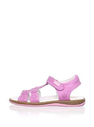 Pablosky Kid's T-Strap Sandal (Pink)