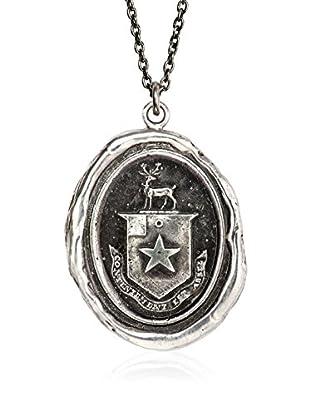 Pyrrha Conjunto de cadena y colgante plata de ley 925 milésimas