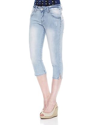 Carrera Jeans Pantalón Stretch Regular Trattato (Azul Lavado)