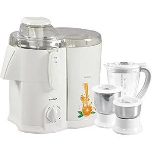 Havells Endura GHFJMAHW050 500-Watt Juicer Mixer Grinder with 3 Jars