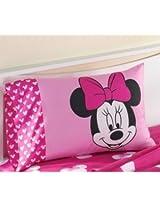"Disney Minnie Mouse Classic ""Varsity"" Pillowcase"