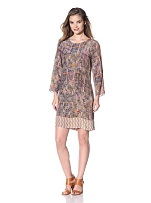 San & Soni Women's Leah Dress (B'Way Junction Print)