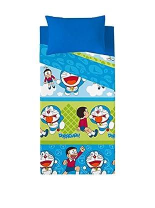 Euromoda Licencias Juego De Sábanas Doraemon & Nobita