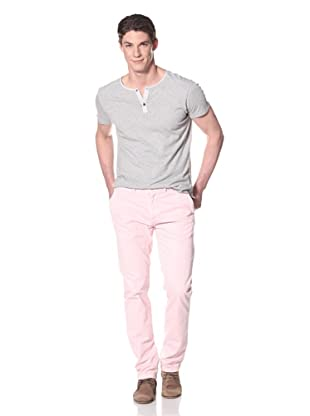 Just a Cheap Shirt Men's A Slim Fit Chino (Strawberry)
