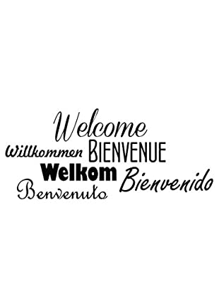 Ambiance Sticker Wandtattoo Welcome