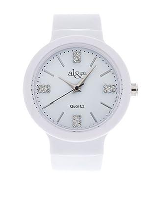 al&co Reloj L178A Blanco