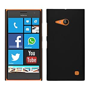 WOW Back Cover For Nokia 730 - Black