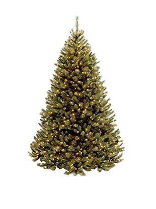 National Tree Company 7.5' Rocky Ridge Medium Pine Hinged Tree