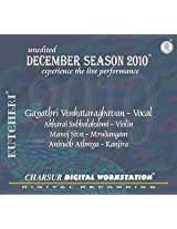 December Season 2010 - Gayathri Venkatar
