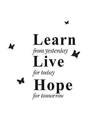 SuperStudio Wandtattoo Learn Live Hope