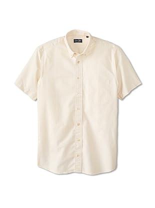 Gitman Blue Men's Vintage Stripe Oxford Long Sleeve Sportshirt (Maize)