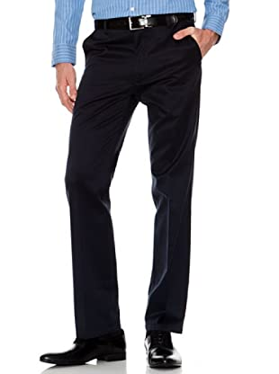 Dockers Pantalón Recto de Vestir (azul marino)