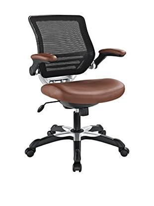 Modway Edge Vinyl Office Chair (Tan)