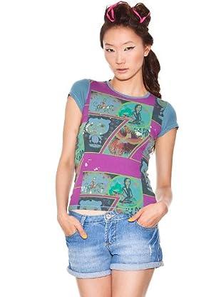 Custo T-Shirt Small Tiger (Petrol)