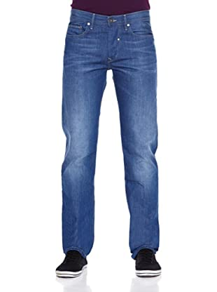 Salsa Pantalón Vaquero Dave Straight - Recto (Azul)